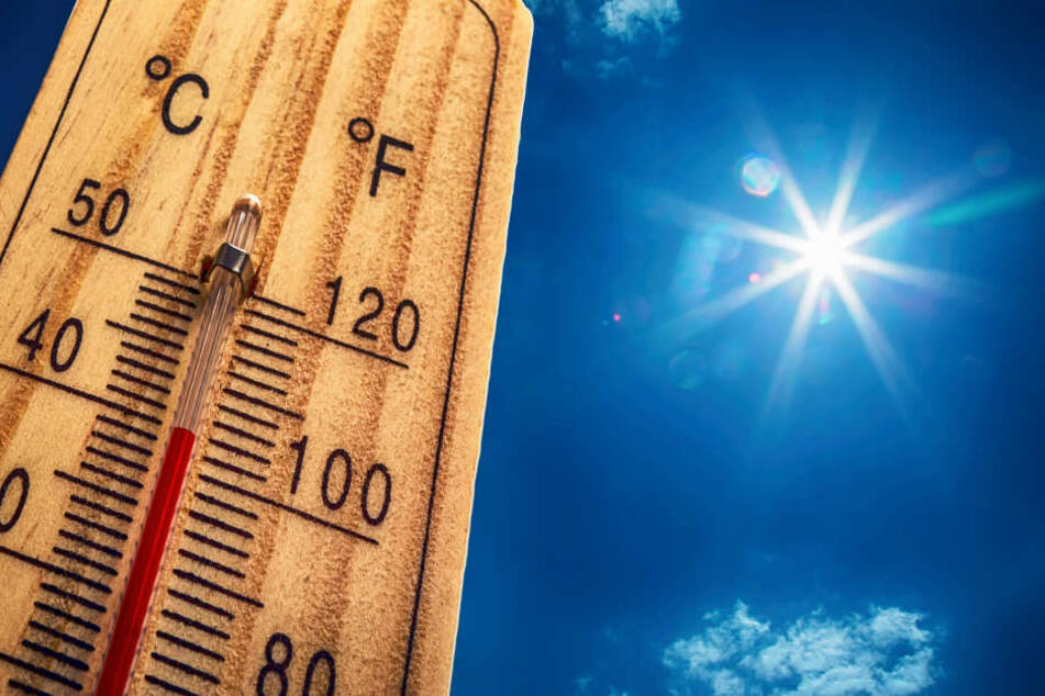 Am Mittwoch könnte es örtlich bis 40 Grad heiß werden.