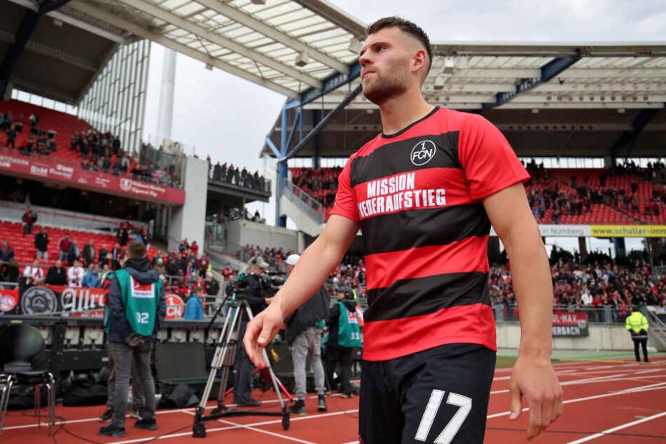 In der vergangenen Saison stand U21-Nationalspieler Eduard Löwen für den 1. FC Nürnberg auf dem Platz.