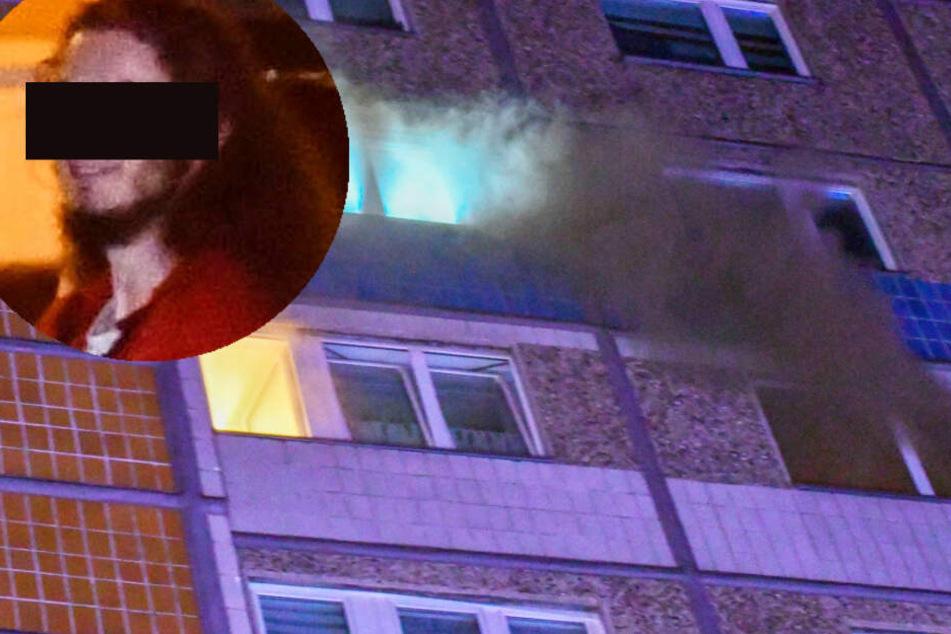 Familien-Drama in Wohnung! Sohn (18) verriegelt alle Türen und legt Brand