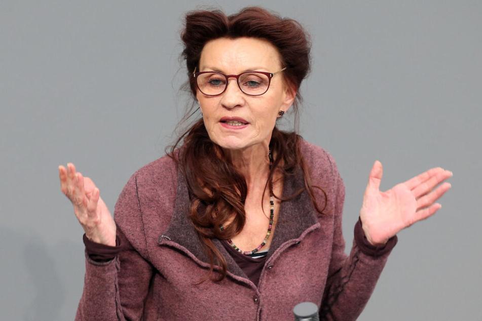 Ulla Jepke ist innenpolitische Sprecherin der Linken im Bundestag.