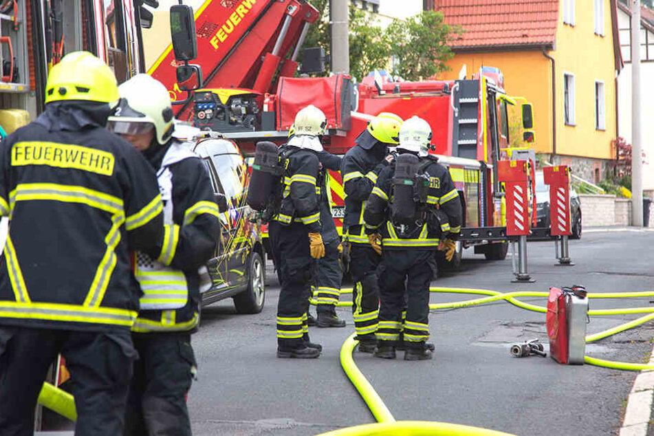 Zahlreiche Kameraden der Feuerwehr waren vor Ort.