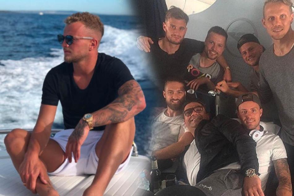 Jede Sommerpause zieht es die Jungs gemeinsam in den Urlaub.