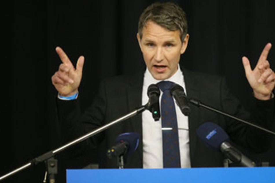 Björn Höcke warnt die AfD vor Spaltung