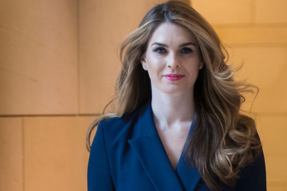 Hope Hicks arbeitete als Kommunikationsdirektorin im Weißen Haus.