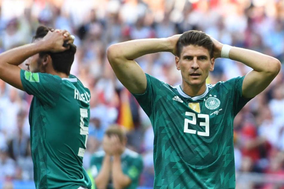 Das WM-Spiel gegen Südkorea war das letzte Spiel von Mario Gomez im DFB-Trikot.