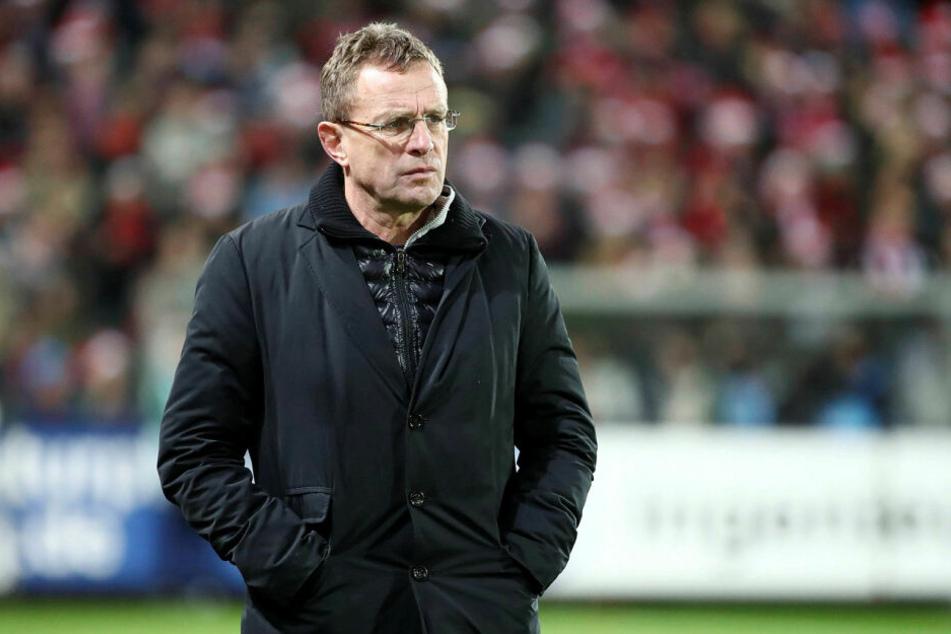 Blickte beim 0:3 in der Hinrunde in Freiburg böse drein, kann am Samstag aber mit den Bullen die Champions League eintüten.