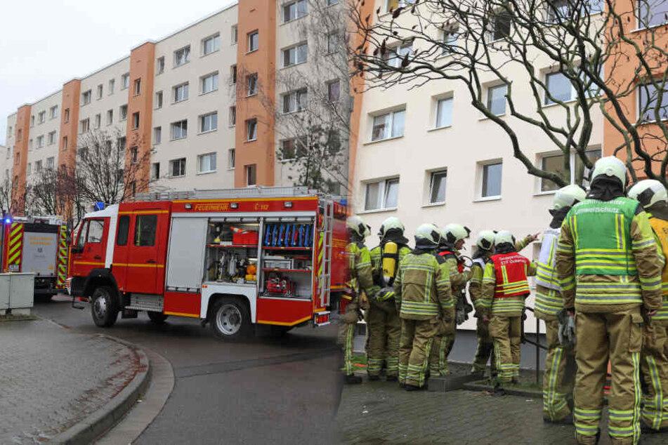 Dresden: Kripo ermittelt wegen schwerer Brandstiftung in Dresden-Gorbitz