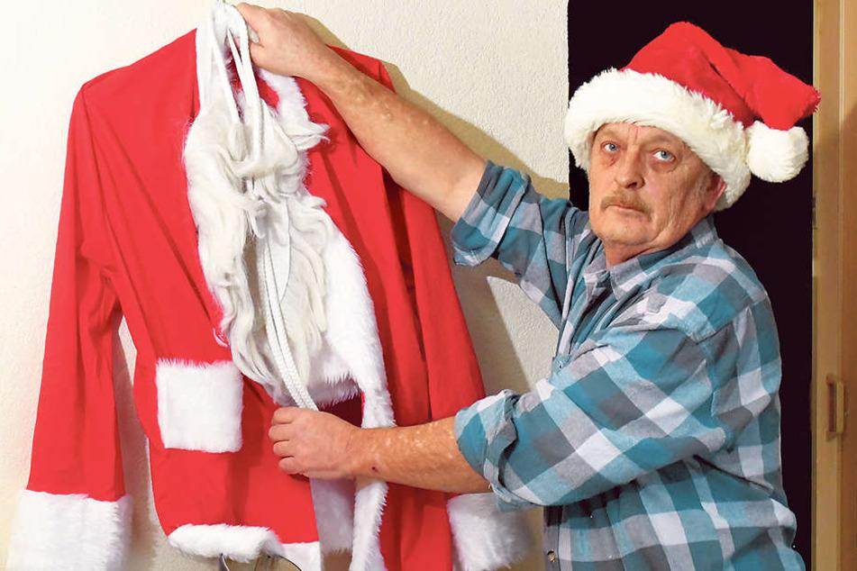 Nach 30 Jahren ist Schluss: Weihnachtsmann Karsten Gust (53) hängt den roten Mantel an den Nagel.