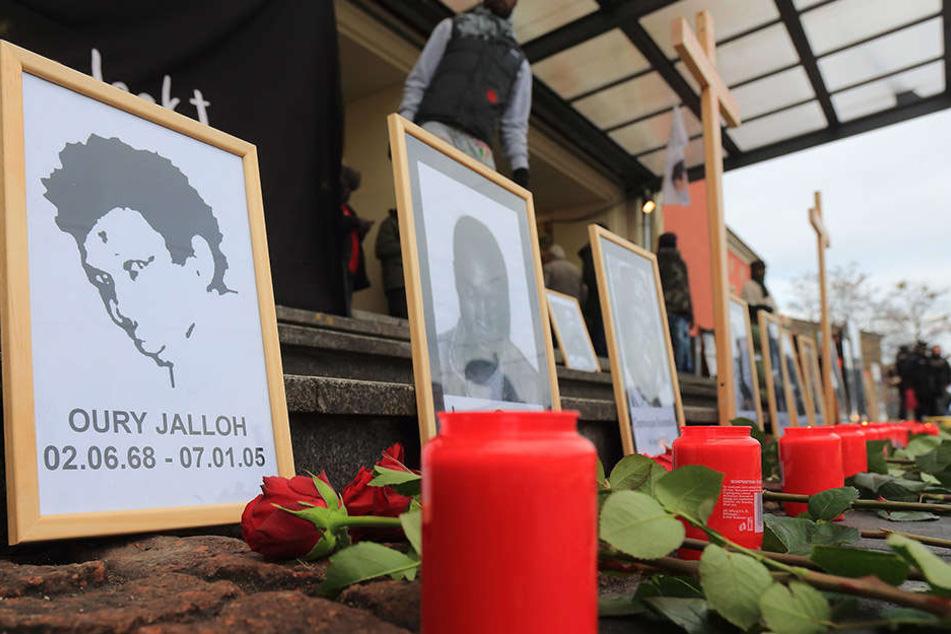 Oury Jalloh verbrannte vor 13 Jahren in einer Zelle des Polizeireviers Dessau. (Symbolbild)