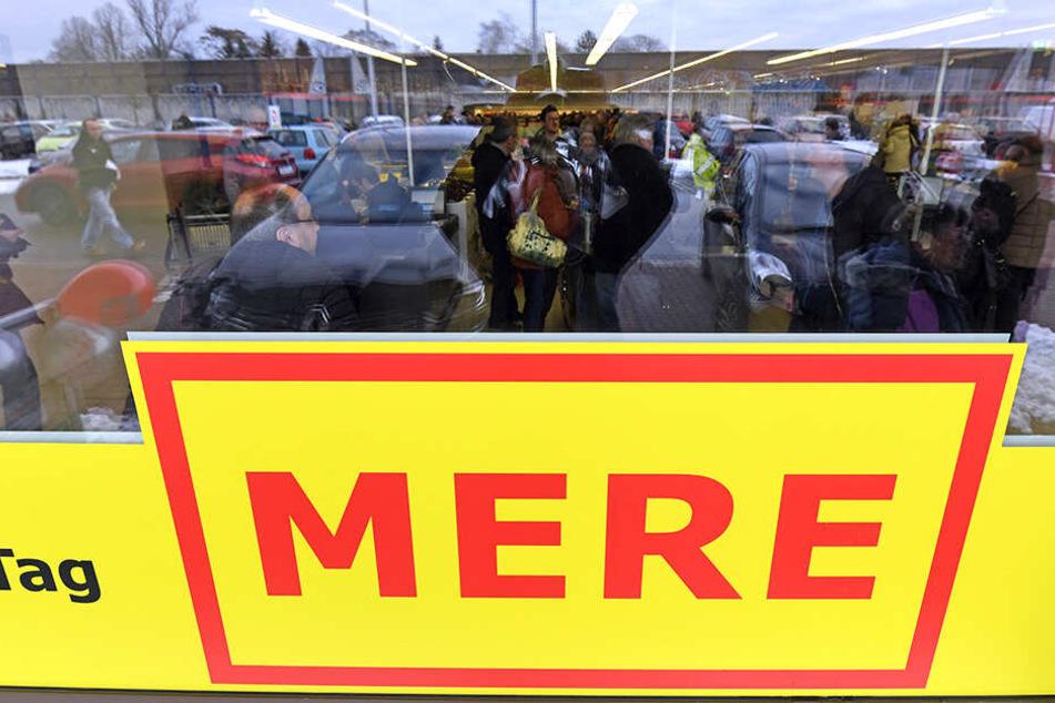 """Beim Russen-Discounter gibt es einige Waren ganz besonders billig. In Zwickau eröffnet jetzt schon der zweite """"Mere""""."""
