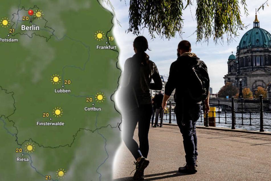 Berlin: Sommerliche Temperaturen im Herbst: Sonne für Berlin und Brandenburg!