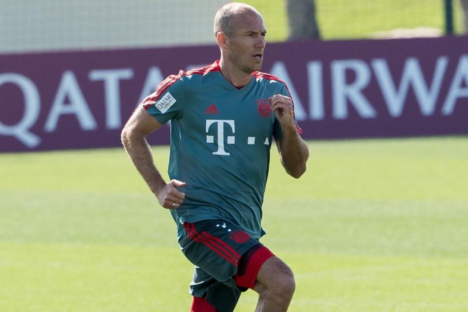 Arjen Robben könnte nie mehr für den FC Bayern München auf dem Feld stehen.
