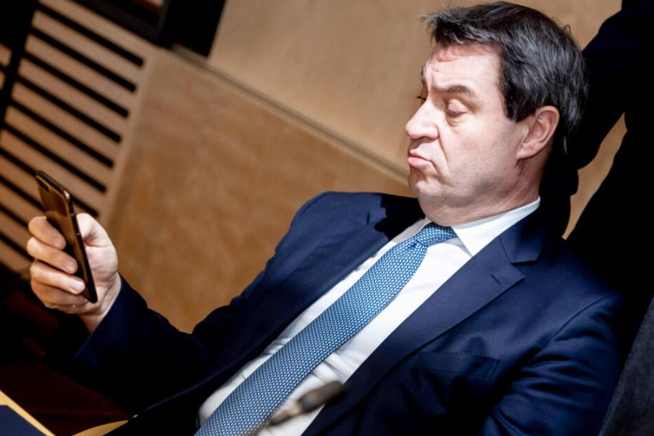 Ministerpräsident Markus Söder zeigte sich zuletzt gesprächsbereit. (Archivbild)