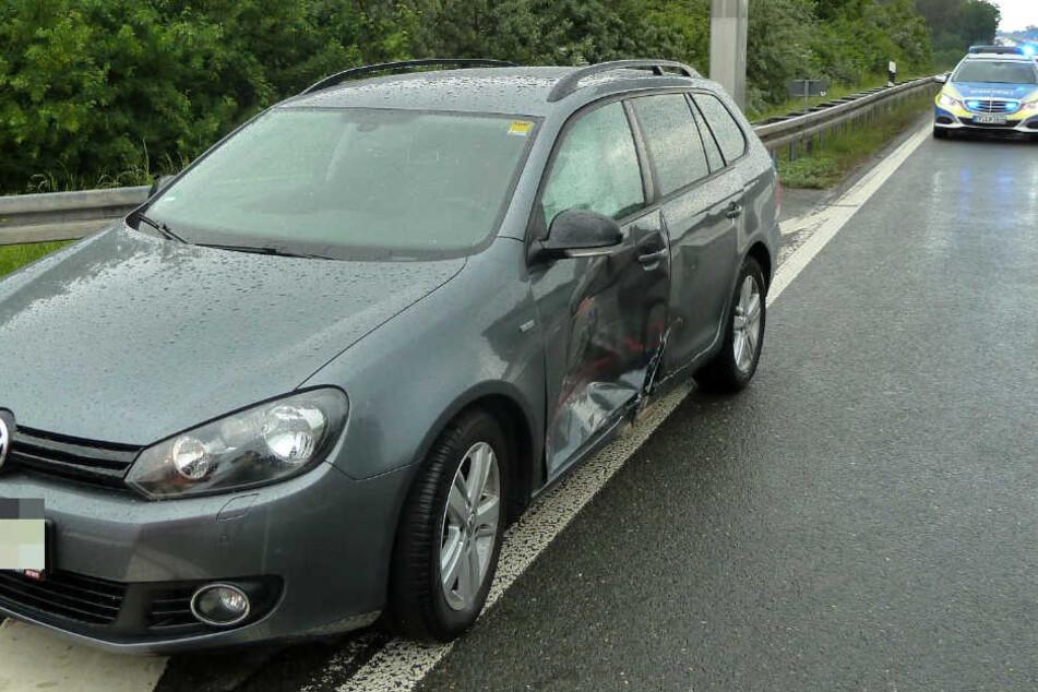 Die 39-jährige Fahrerin des VW wurde leicht verletzt.