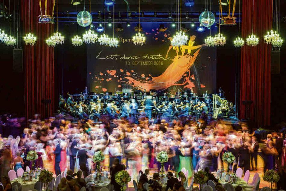 Rund 2000 Gäste amüsieren sich alljährlich auf dem Leipziger Opernball.