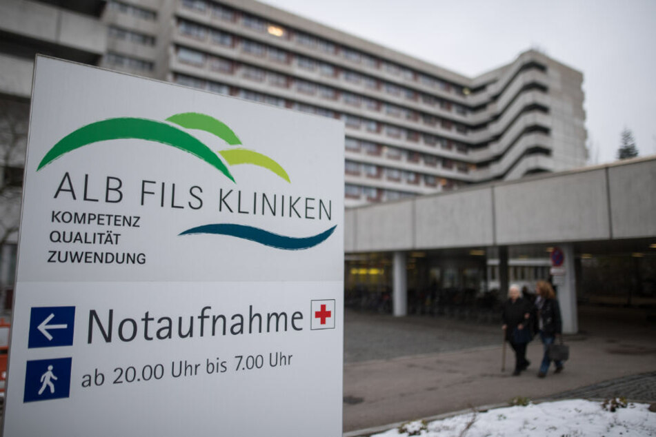 """Die """"Klinik am Eichert"""" in Göppingen."""