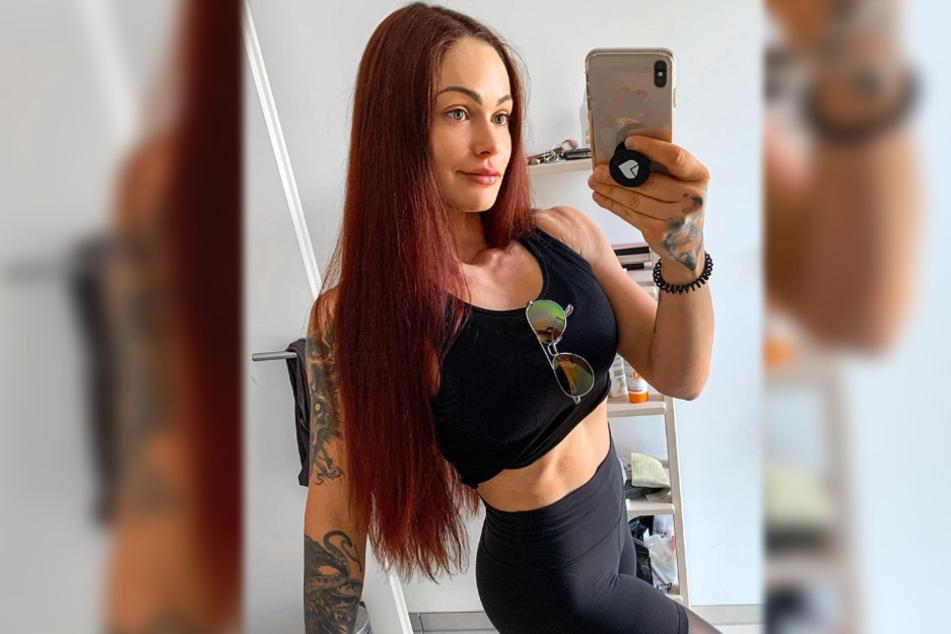 Das Bild zeigt einen Screenshot aus dem Instagram-Profil von Influencerin LeaLovesLifting (22).