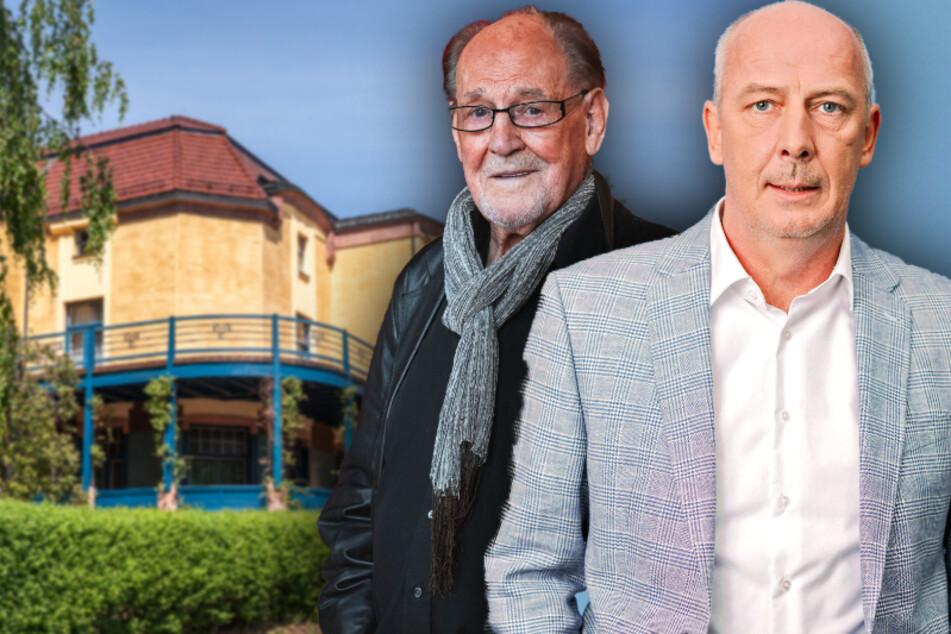 Mario Basler zieht um, Herbert Köfer teilt sich: So plant die Villa Esche den Corona-Neustart
