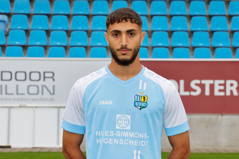 Aschti Osso (19) wechselte im Sommer 2020 zum Chemnitzer FC.