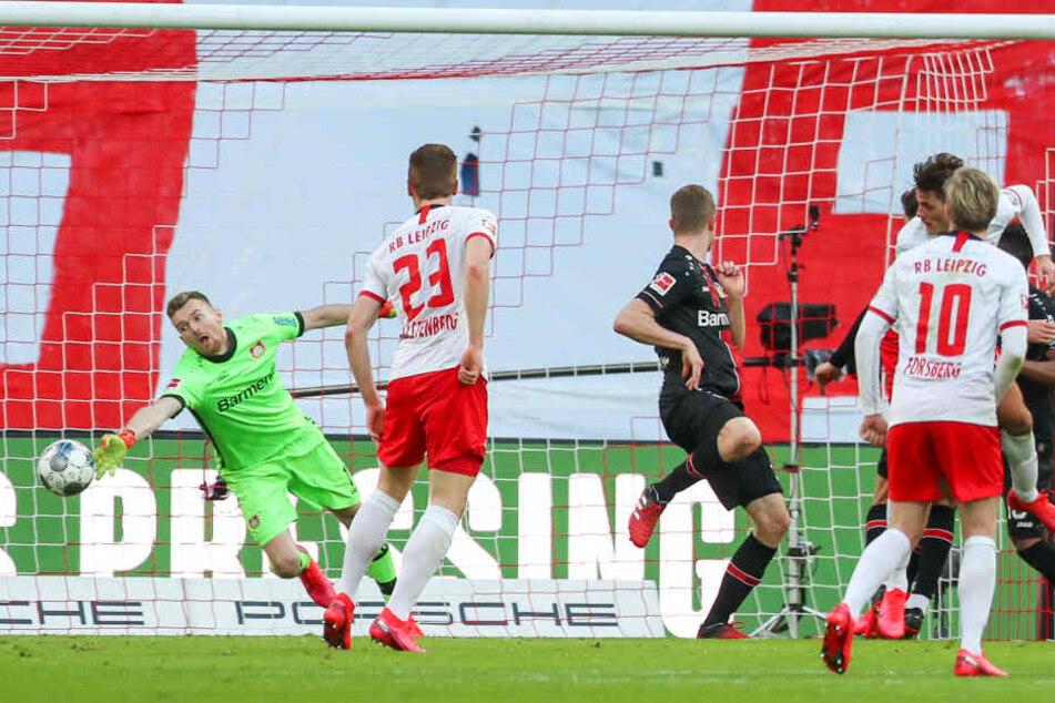 Die Roten Bullen kamen am Sonntag gegen Leverkusen nicht über ein 1:1 hinaus.