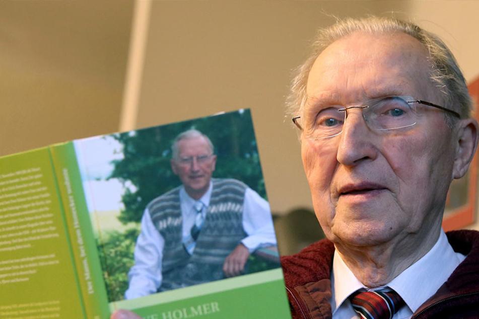 Pfarrer Uwe Holmer (88) verweigert bis auf Weiteres die Zahlung des Rundfunkbeitrags.