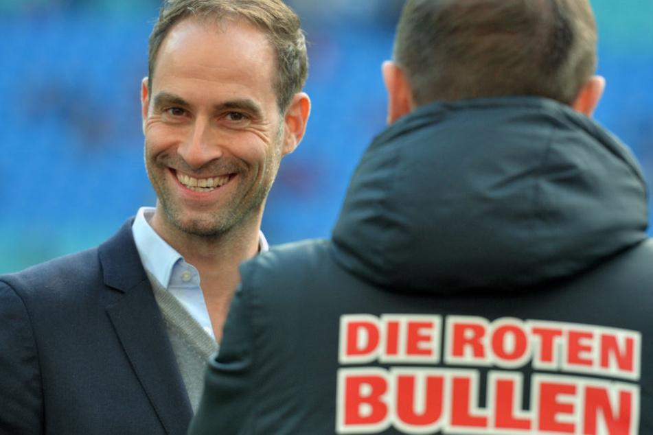 """""""Wir wollen dauerhaft international spielen und irgendwann deutscher Meister werden."""" Laut Mintzlaff wird das aber erst in fünf bis zehn Jahren passieren."""
