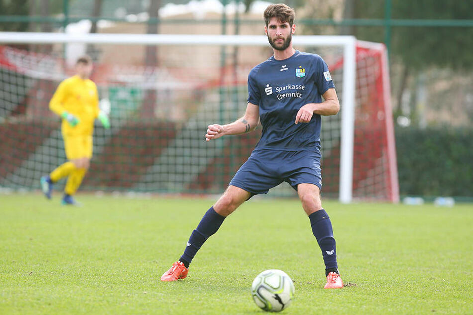 Erzielte gegen den SV Babelsberg 03 das schönste Tor des Tages: CFC-Innenverteidiger Niklas Hoheneder.