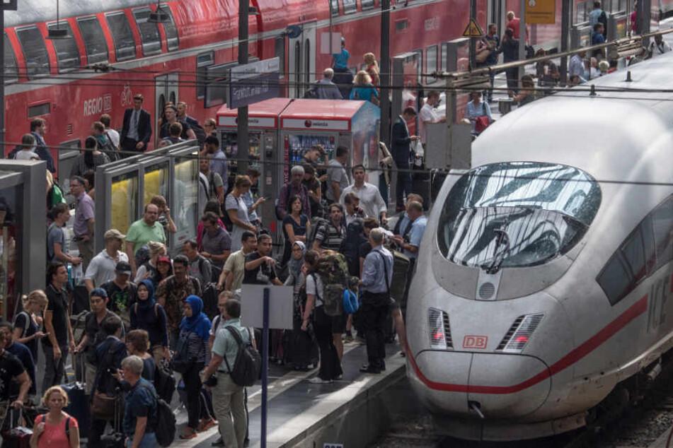 Der Frankfurter Hauptbahnhof platzt in Stoßzeiten aus allen Nähten.