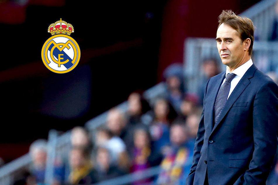 Nach Fiasko gegen Barcelona: Real Madrid feuert Trainer Lopetegui