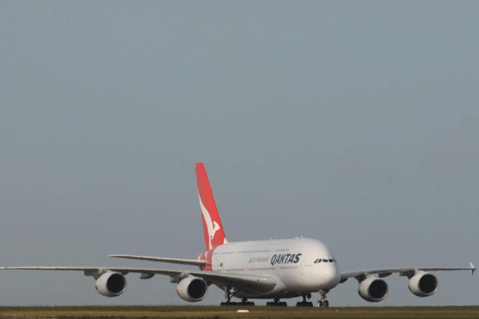 Die australische Airline Qantas lässt A380-Jets in Dresden durchchecken.