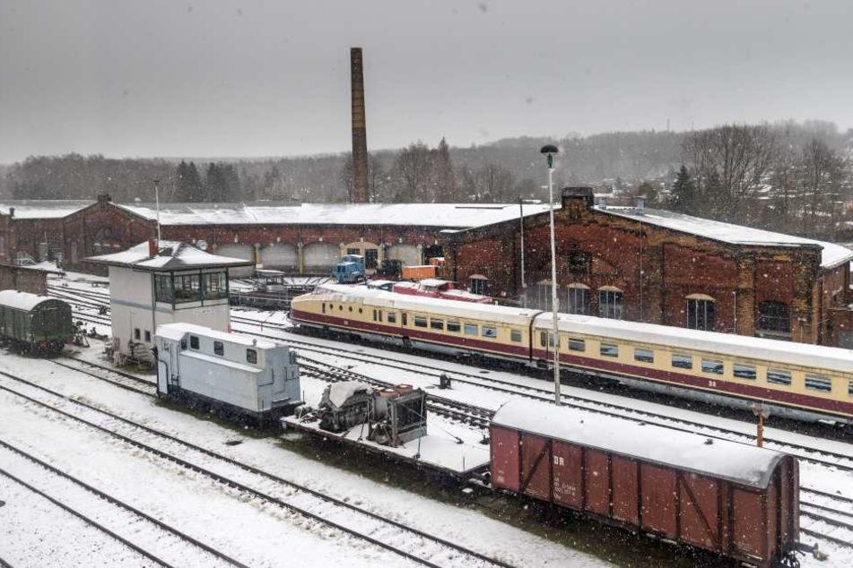 Ins Eisenbahnmuseum in Chemnitz-Hilbersdorf sollen vor der Sächsischen  Landesausstellung 2020 rund 1,2 Millionen Euro in investiert werden.