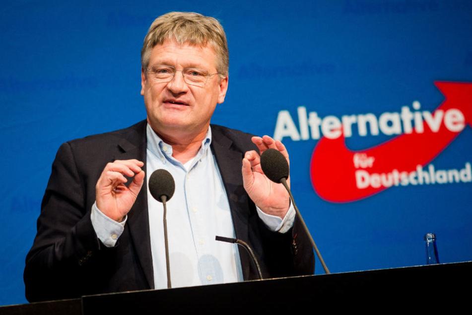 Jörg Meuthen glaubt den Grund für die Kritik aus dem Lager der CSU zu kennen.