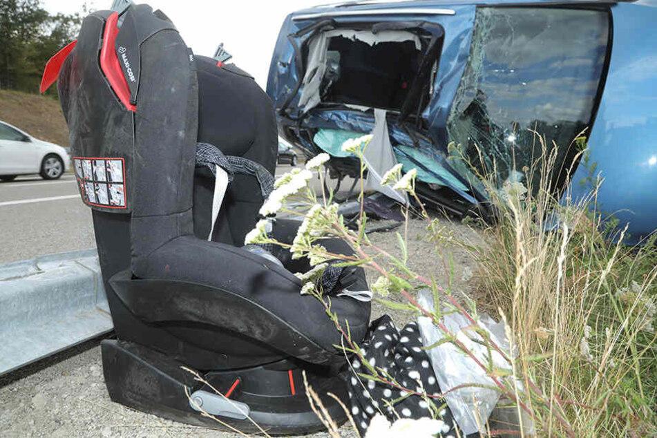 Unter den zwei Schwerverletzten ist auch ein 16 Monate altes Kind.