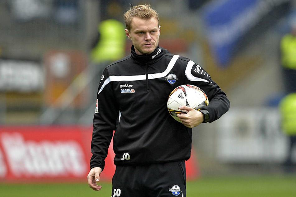 Er sollte der neue Chefcoach werden: Sören Osterland, der zuletzt an der Seite von Trainer Stefan Effenberg beim SC Paderborn arbeitete.