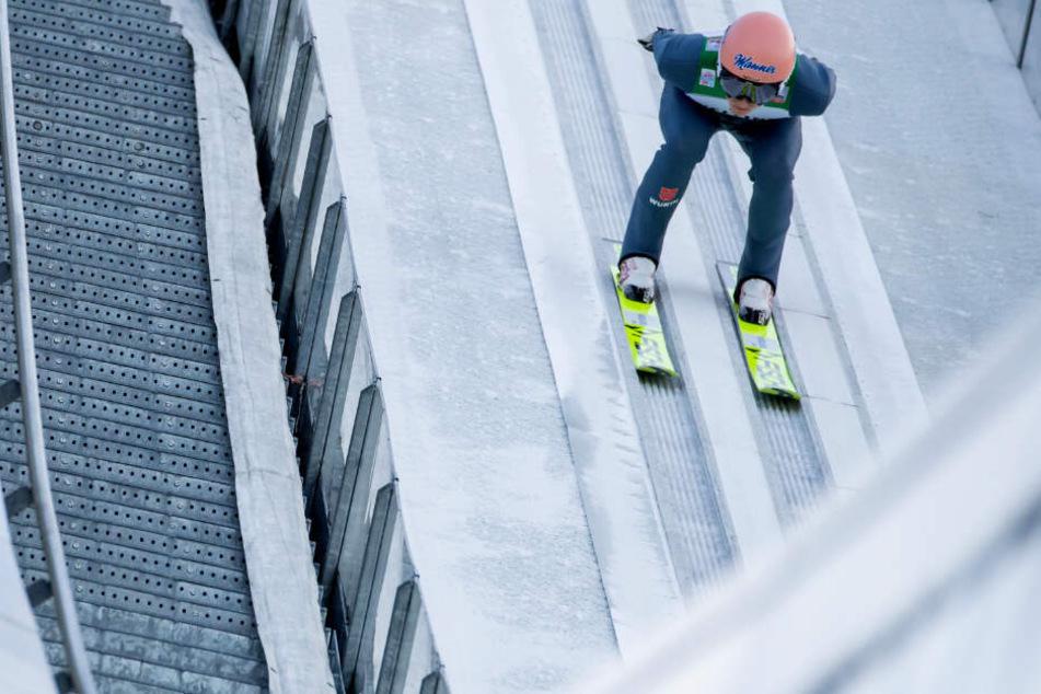 Skispringer Geiger dominiert Quali in Garmisch, auch Eisenbichler stark