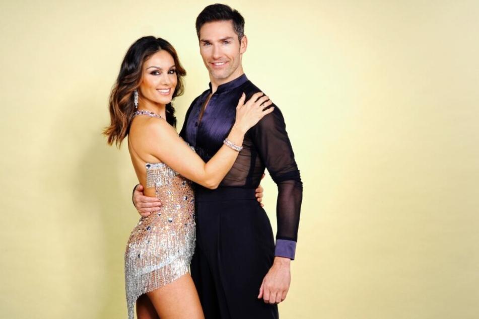 """Nazan Eckes (42) und ihr Tanzpartner Christian Polanc (40) nehmen an der aktuellen Staffel von """"Let's Dance"""" teil."""