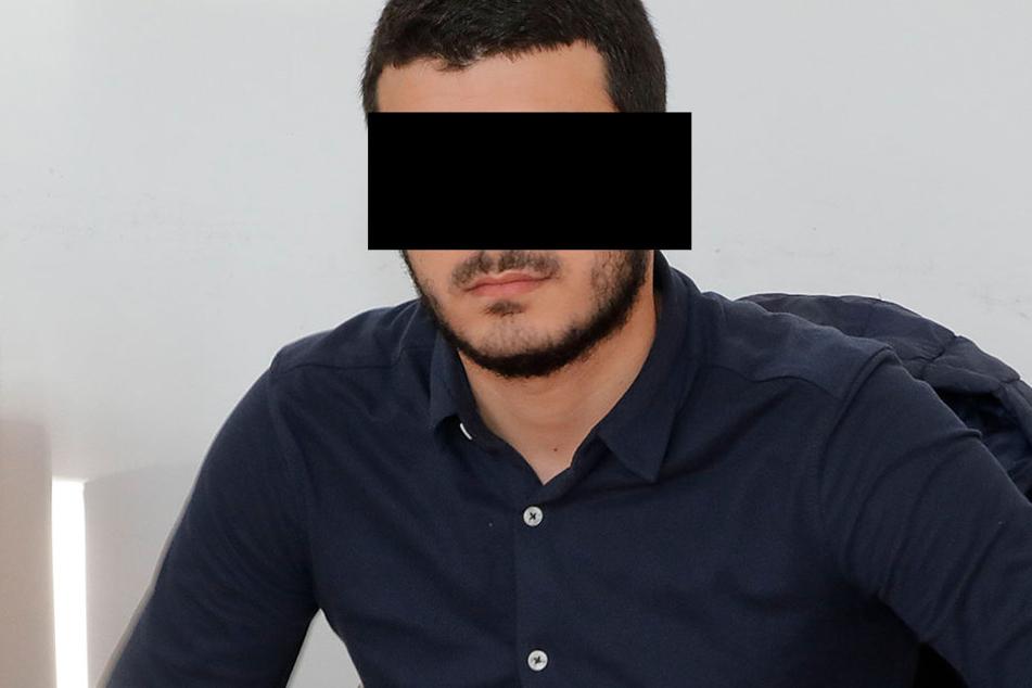 Abdullah R. (19) musste am Donnerstag vors Landgericht.