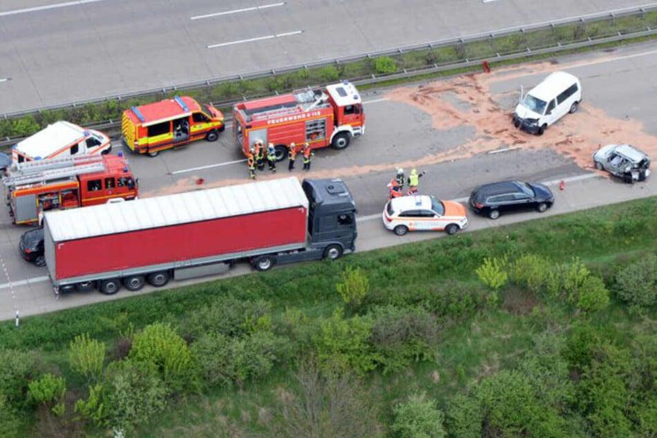 Tödlicher Unfall! A4 Richtung Dresden komplett dicht