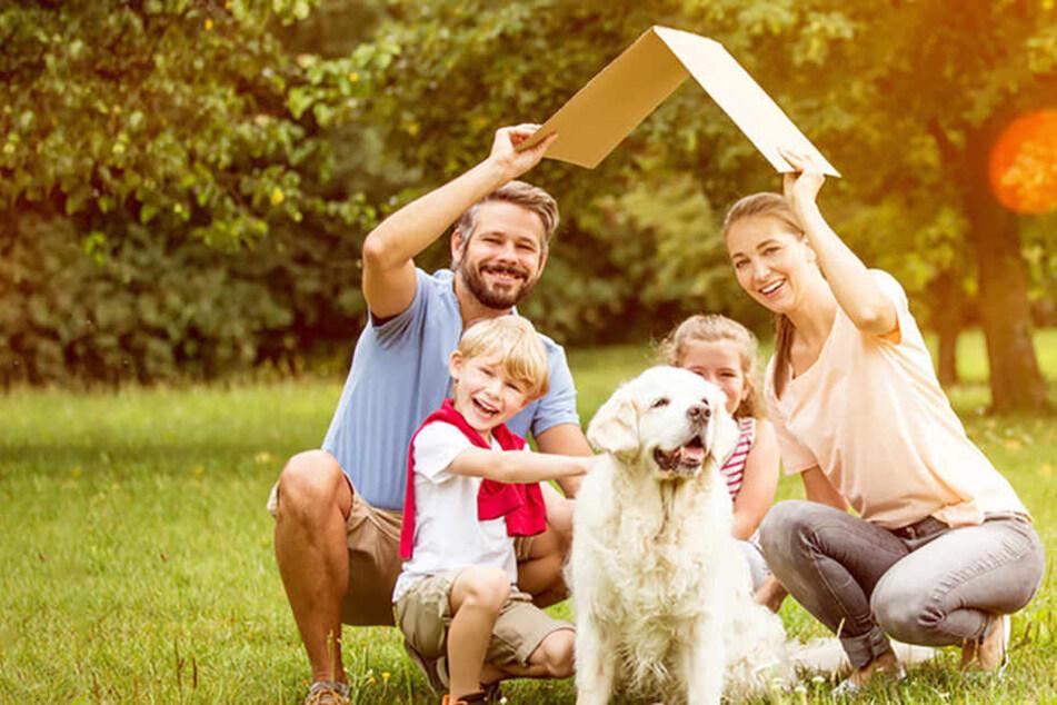 """""""Wohn-Riester"""" ist besonders für Familien sehr gut geeignet."""
