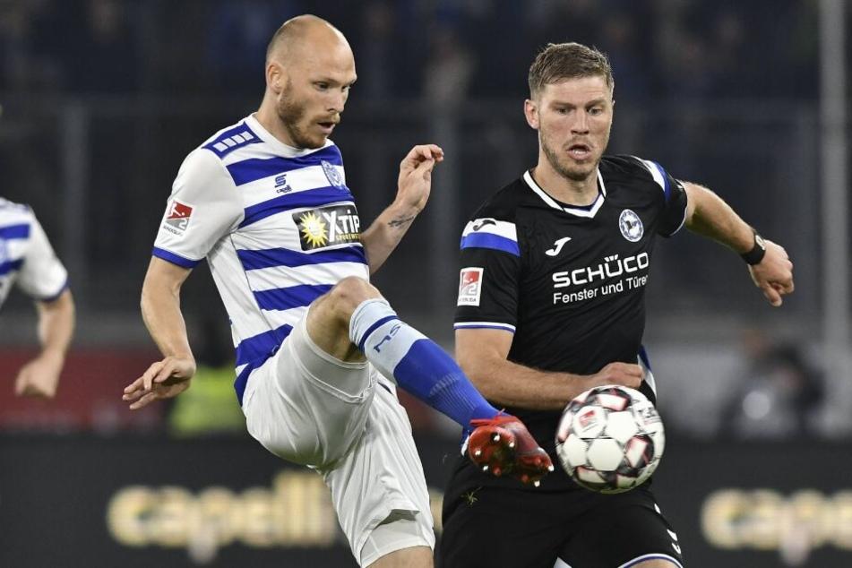 Stürmer Fabian Klos konnte gegen Duisburg nicht einnetzen.