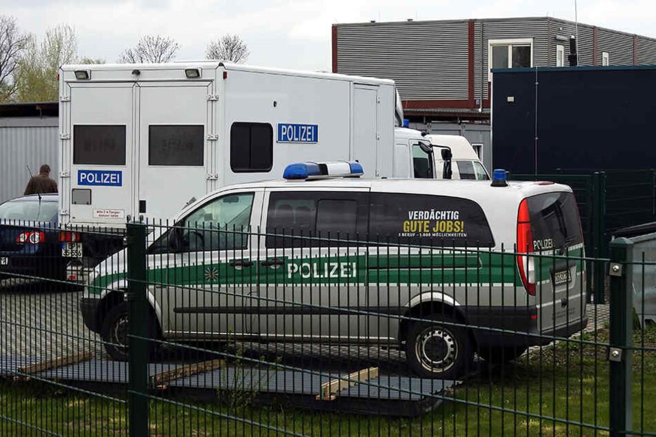 Am Samstagmorgen holten SEK-Beamte Mohamed B. aus seiner Borsdorfer Asylunterkunft.