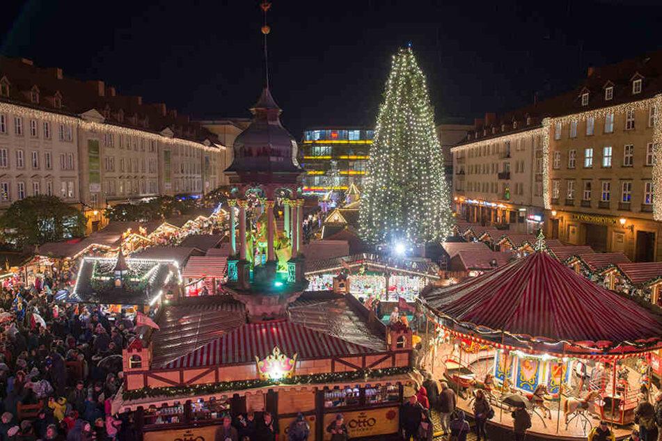 In der Landeshauptstadt Magdeburg läuft der Weihnachtsmarkt noch bis zum nächsten Samstag.