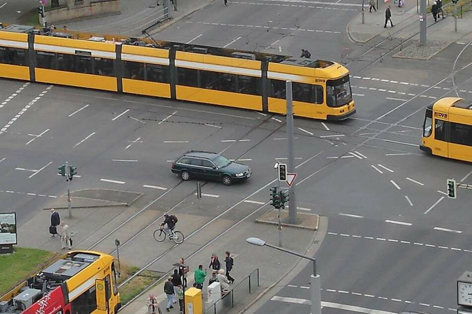 Am Straßburger Platz eskalierte die Situation.
