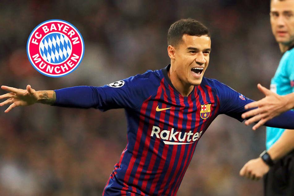 Hammer-Transfer bahnt sich an! FC Bayern verhandelt mit Barcelona über Coutinho-Leihe!