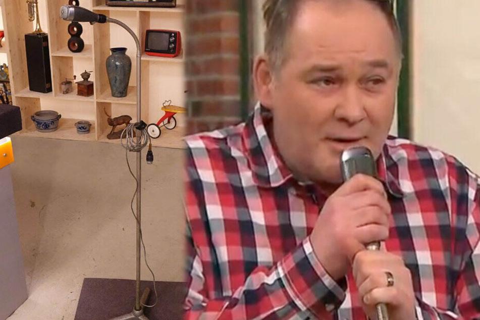 """""""Waldi"""" wird zum Lindenberg: Gesangseinlage bei Bares für Rares"""