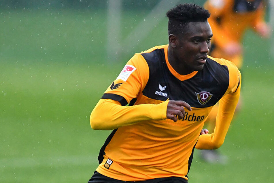 Peniel Mlapa verlässt Dynamo Richtung Niederlande.