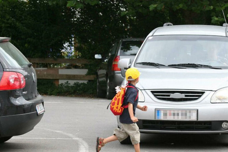 Das Kind wurde an einer Ampel in Auerbach angefahren.