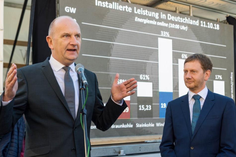 Brandenburgs Ministerpräsident Dietmar Woidke (56, SPD). Auch er fordert vom Bund Ersatz für die wegfallenden Jobs.