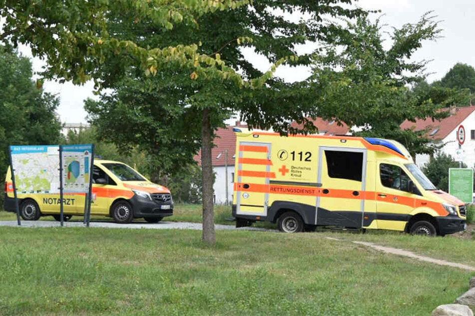 Rettungsdienst und Notarzt waren vor Ort.