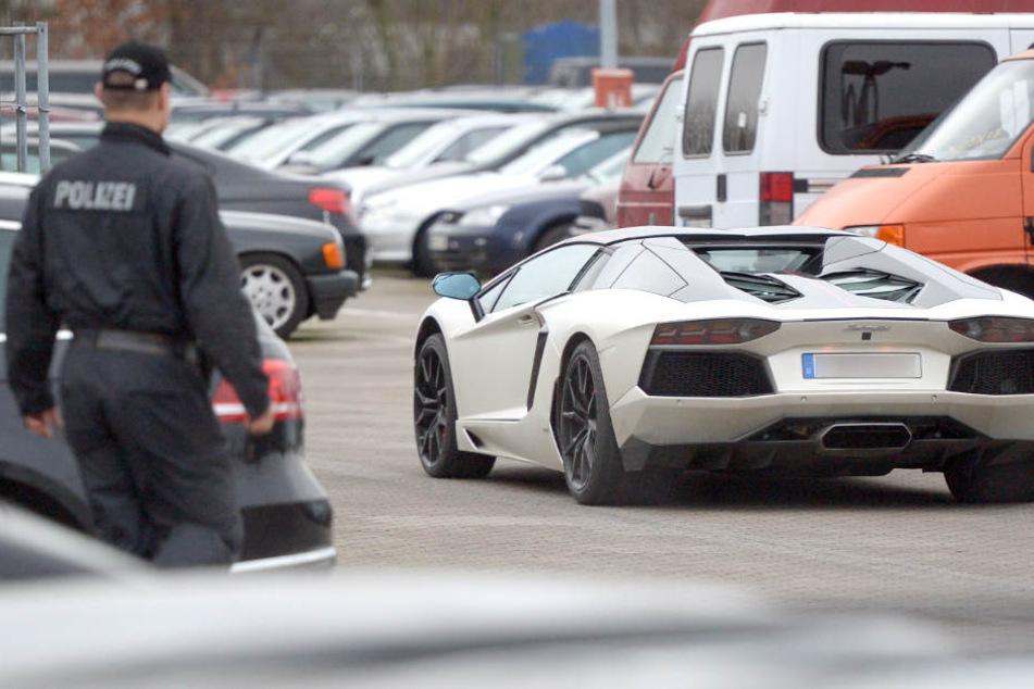 Im Dezember musste Tim Wiese seinen Lamborghini bei der Polizei abholen (Archivbild).